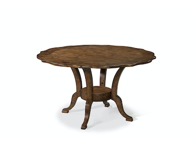Southern Pines Pinecrest Round Dining Table