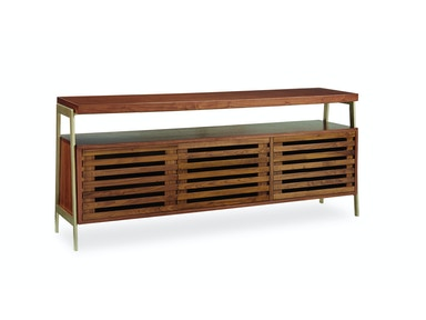 Modern Craftsman Show Down Media Console