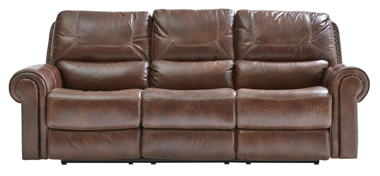 st charles leather power sofa - Simon Li Furniture