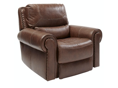 St. Charles Leather Power Recliner