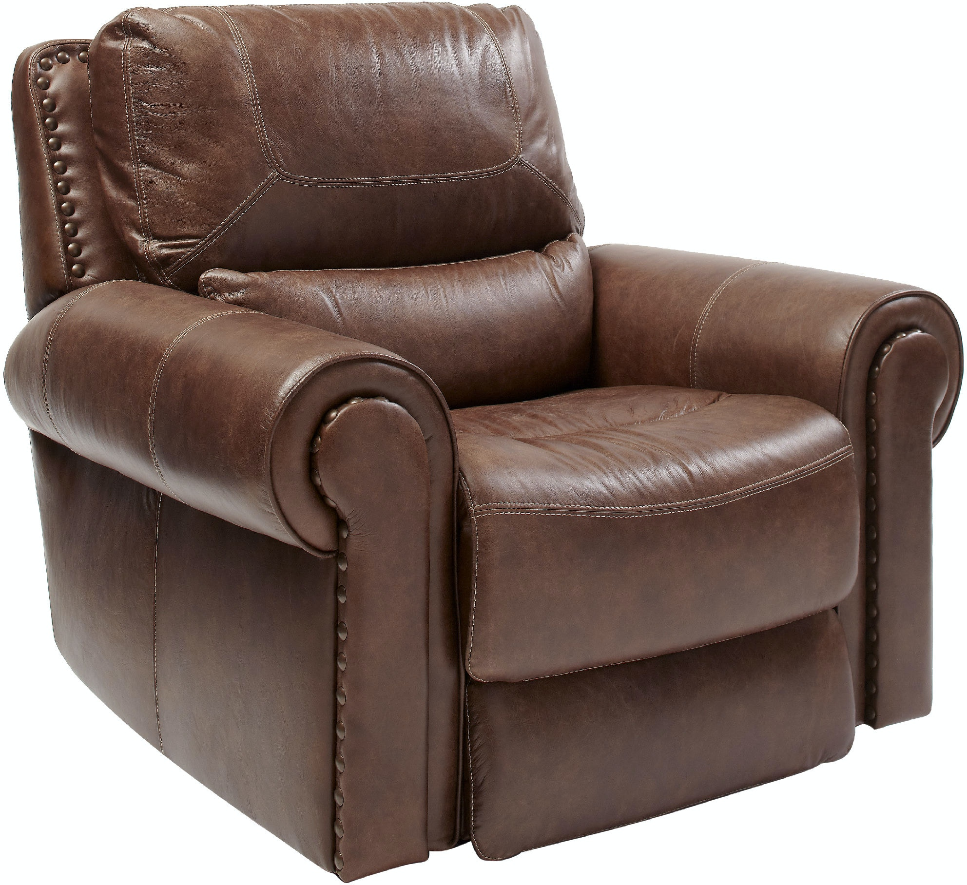 Recliners That Look Like Chairs Living Room Stcharles Leather Power Recliner