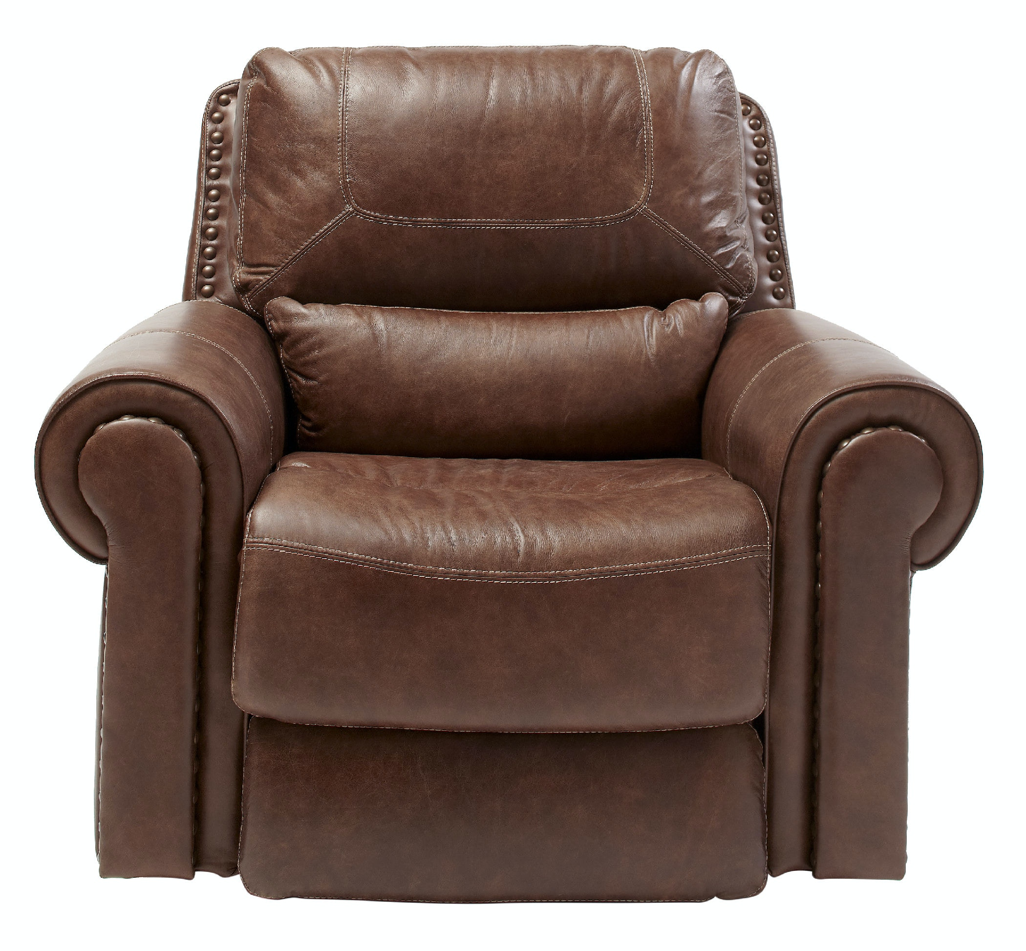 st charles leather power recliner st439515 - Power Recliner
