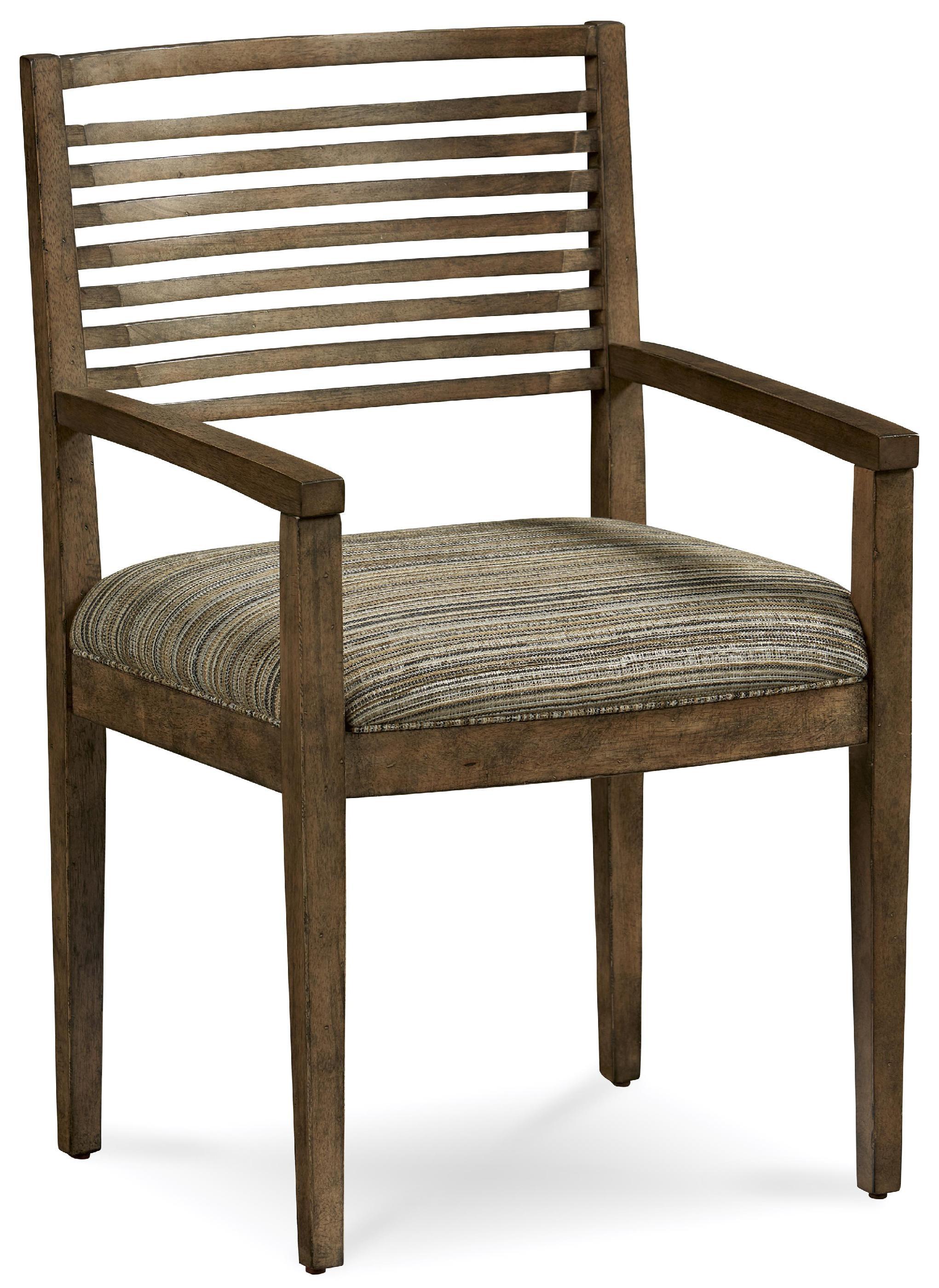 Dining room williamsburg slat back arm chair