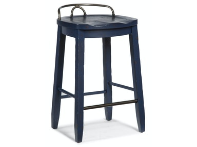 Trisha Yearwood - Cowboy Stool - BLUE
