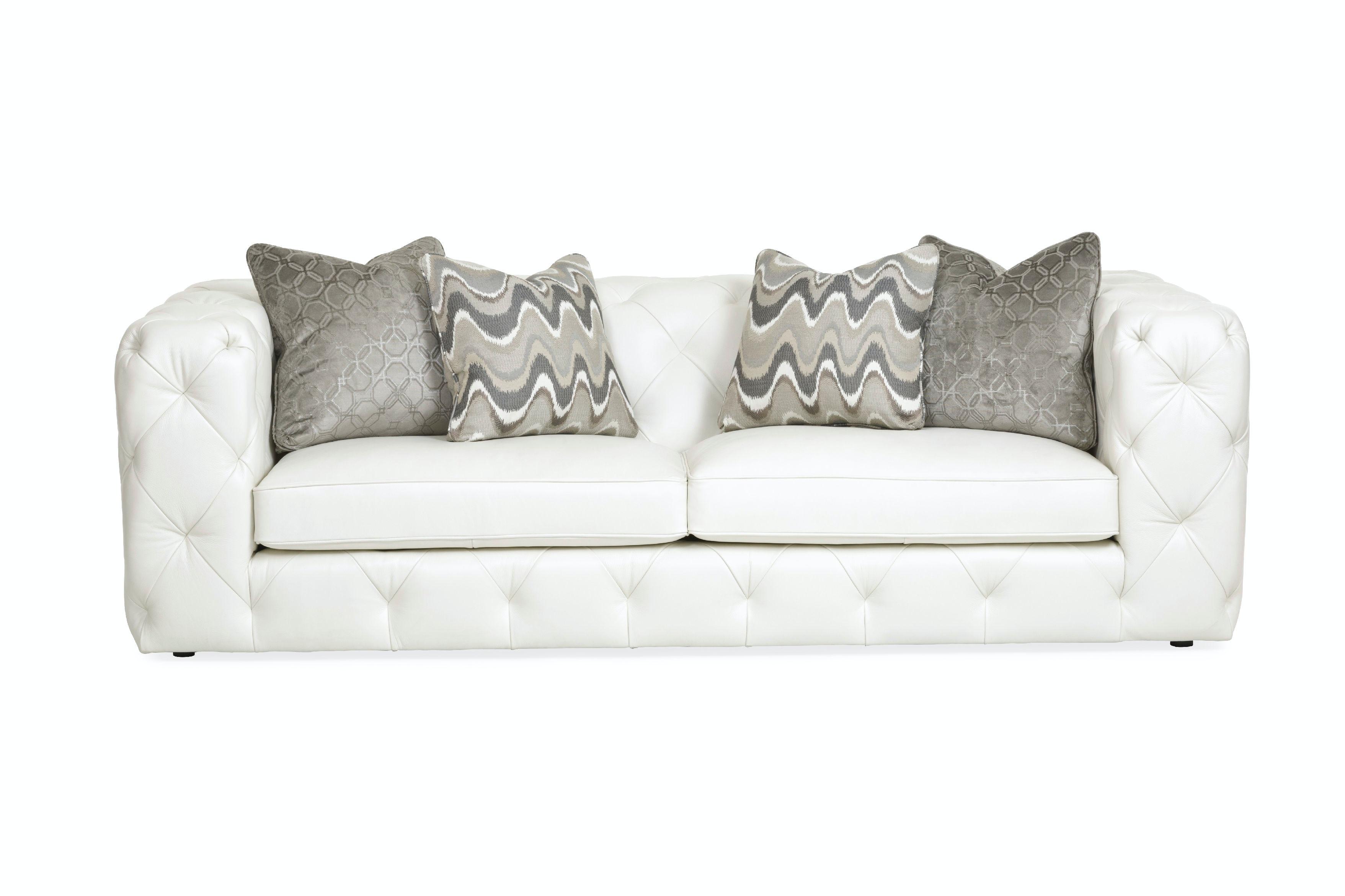 Chelsea Leather Sofa   ARCTIC