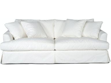 Lily Slipcovered Sofa White