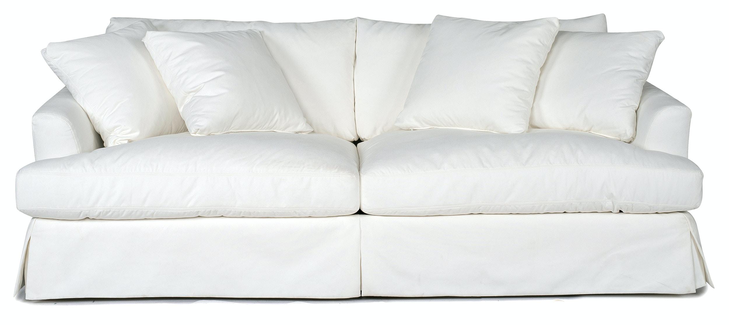 Charmant Lily Slipcovered Sofa   WHITE ST:449753