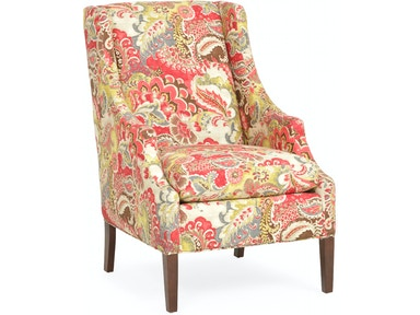 Paisley Wing Chair