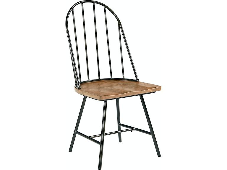 Dining Room Magnolia Home - Windsor Metal and Wood Hoop Chair