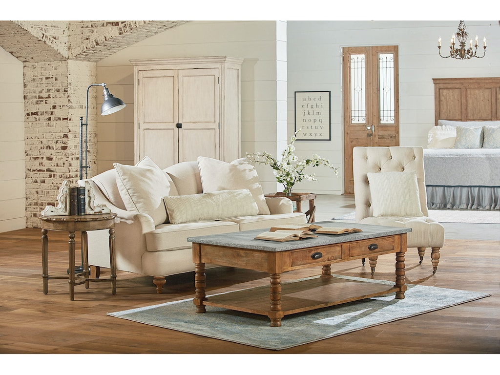 Magnolia Living Room Living Room Magnolia Home Tufted Slipper Chair