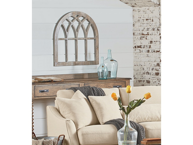 Cathedral window frame wall decor : Accessories magnolia home cathedral window frame wall d?cor