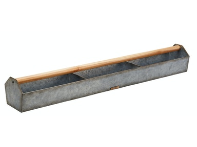 Magnolia Home - Metal Trough with Wood Handle