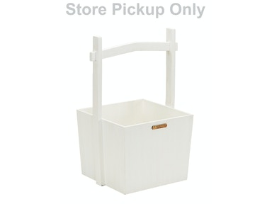 Magnolia Home - Wishing Well Wooden Basket - JO