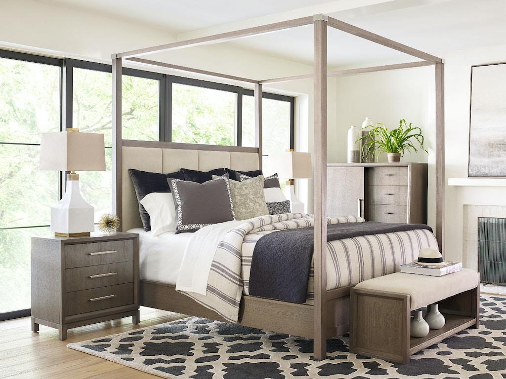 bedroom rachael ray home highline upholstered poster bed