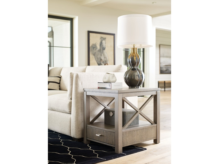 Living Room Rachael Ray Home Highline Drawer End Table
