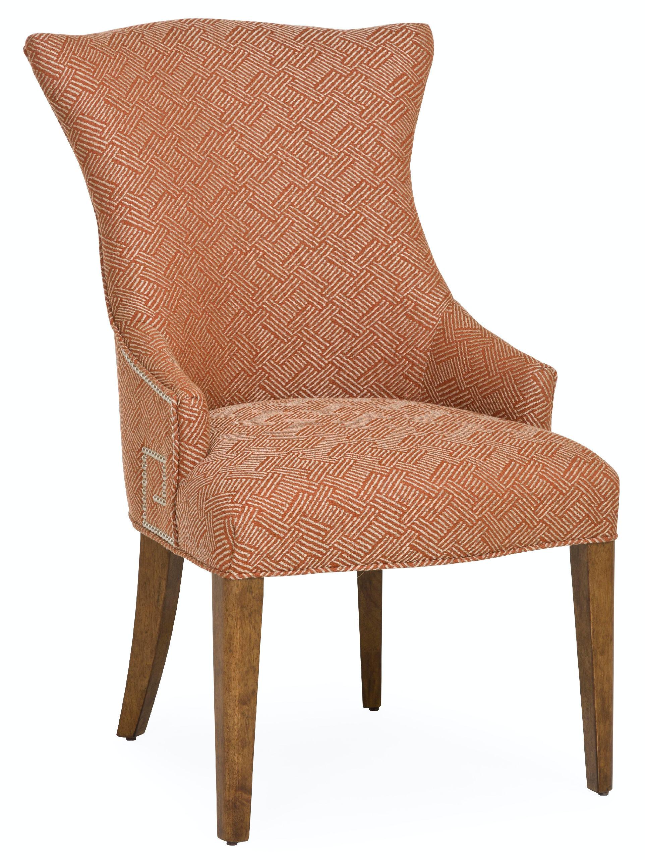 living room soho luxe upholstered arm chair