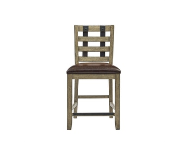 Flatbush Avenue Metal Strap Gathering Chair