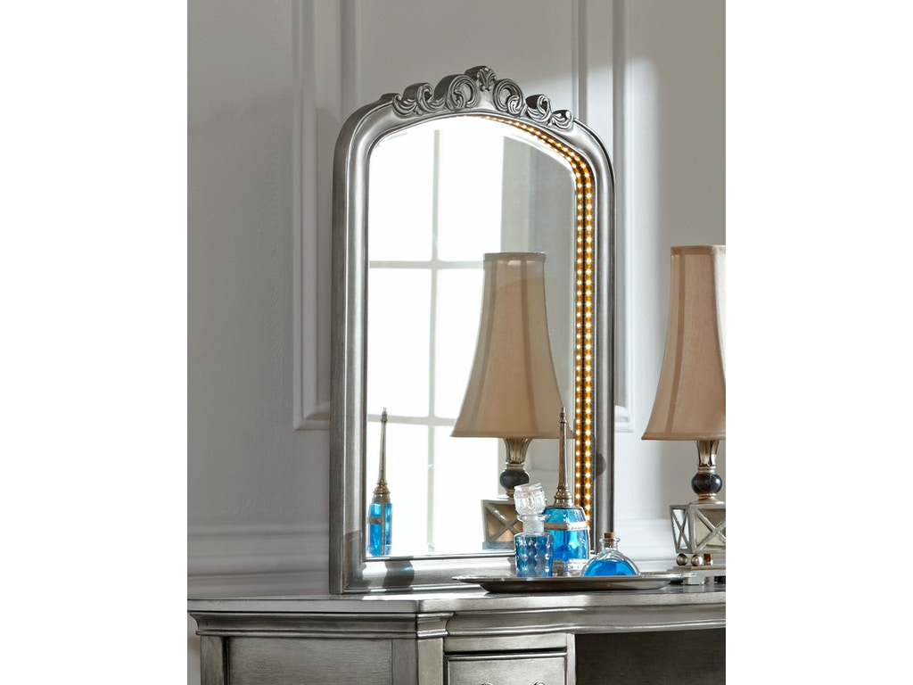 kensigton ii lighted vanity mirror st 468511. Black Bedroom Furniture Sets. Home Design Ideas