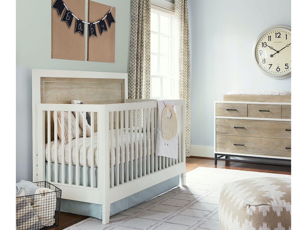 Youth Bedroom #myRoom Convertible Crib - PARCHMENT
