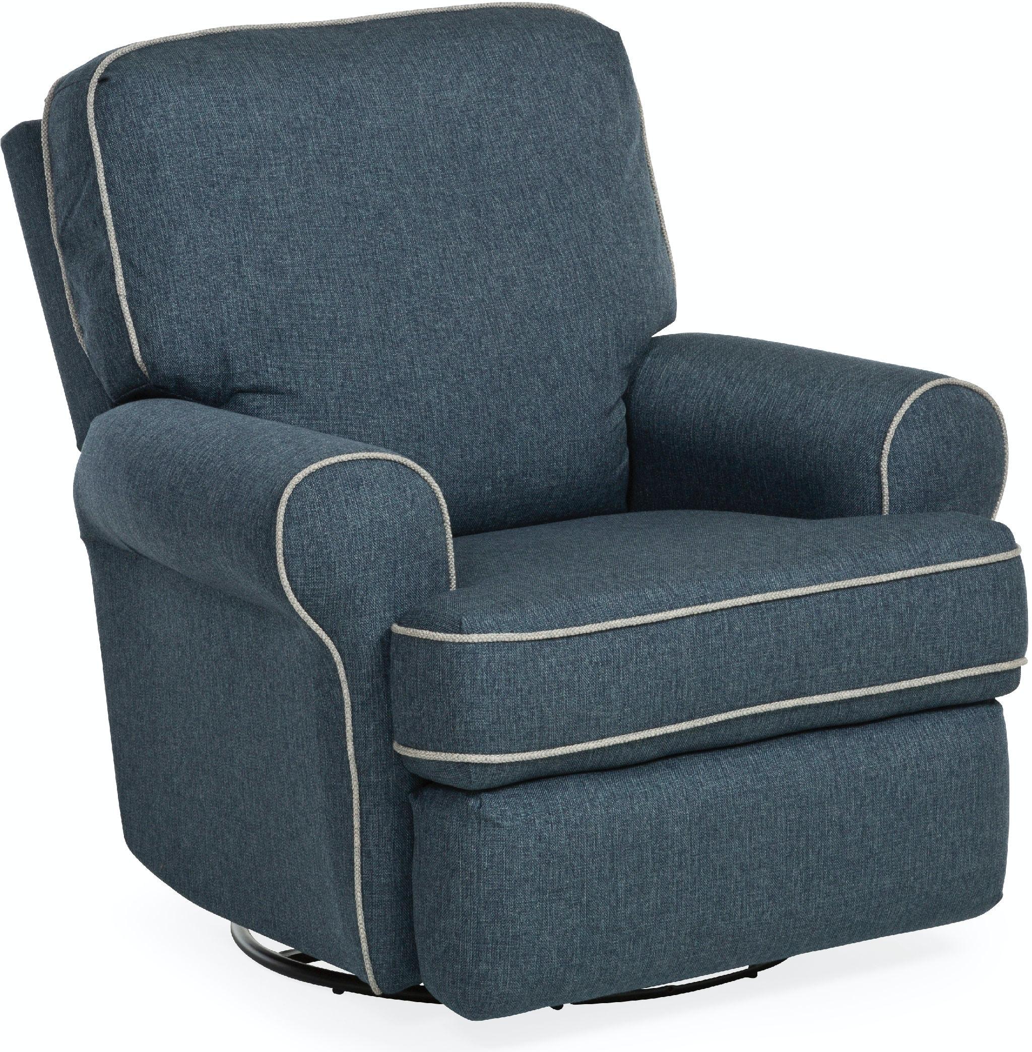 84 Swivel Glider Recliner Chair Meraxr Black Pu