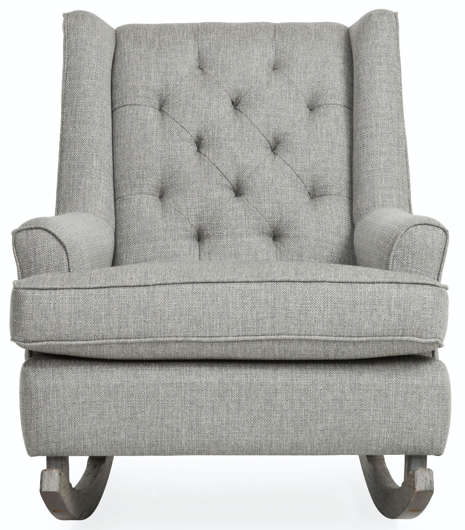 Tufted Club Rocker Chair ST:471301