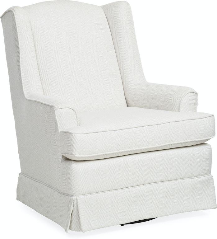 baby natasha swivel glider wingback chair
