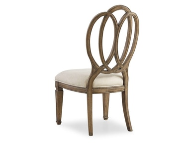 SOLONA WOOD BACK SIDE CHAIR
