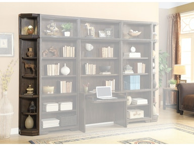 Meridien End Cap Bookcase