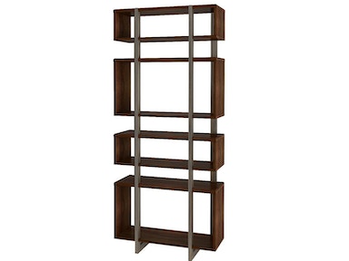 Austere Open Bookcase