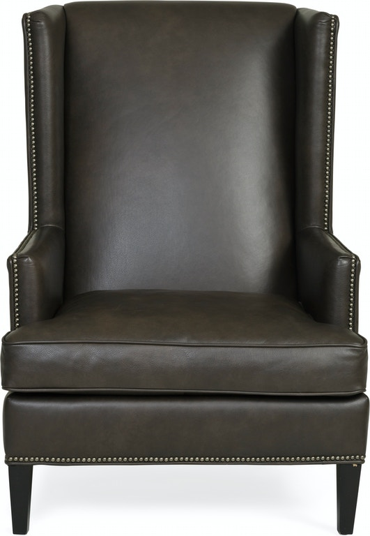 germaine leather wingback chair st472870 - Leather Wingback Chair