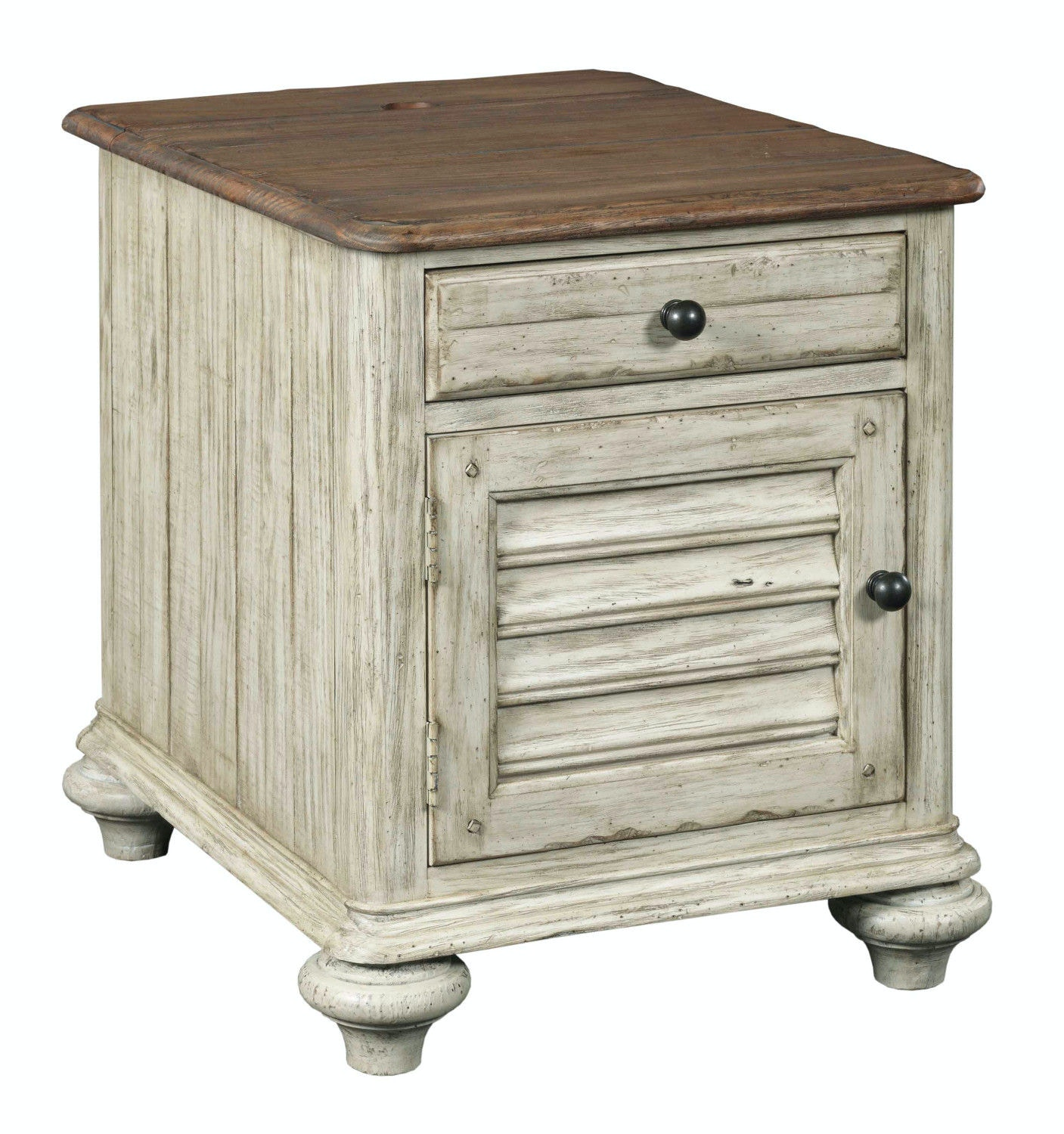Weatherford Chairside Table U2013 CORNSILK ST:475255