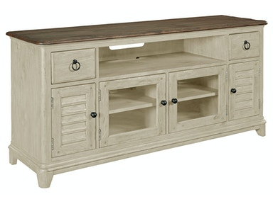 Weatherford Media Console - 66 inches - CORNSILK