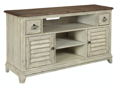 Weatherford Media Console - 56 inches - CORNSILK