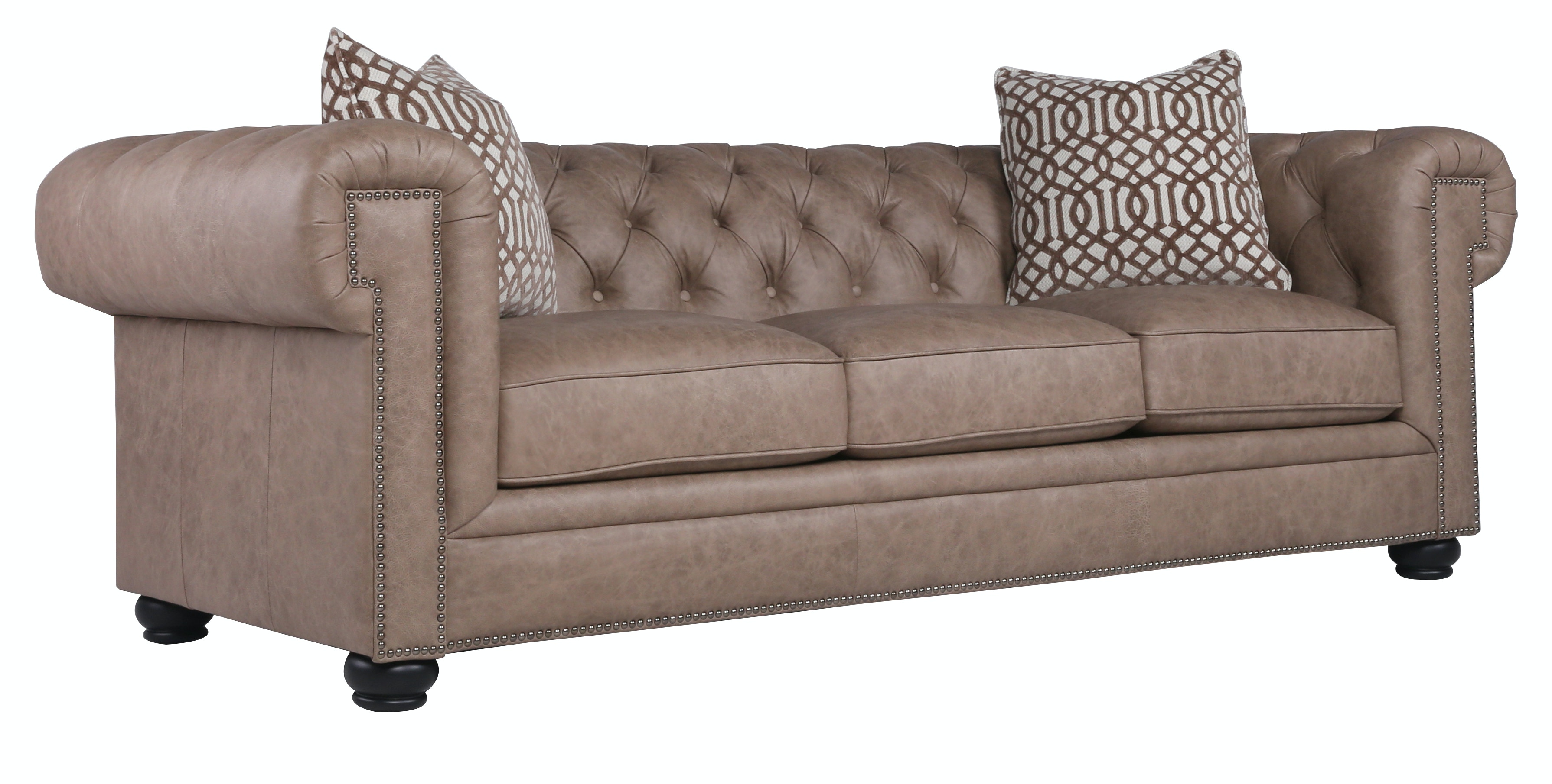 Emma Leather Sofa   HARE ST:475283