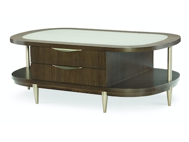 Rachael Ray Home - Soho Oval Cocktail Table