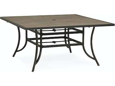 Sonora Outdoor Square Dining Table - TOBACCO TILE