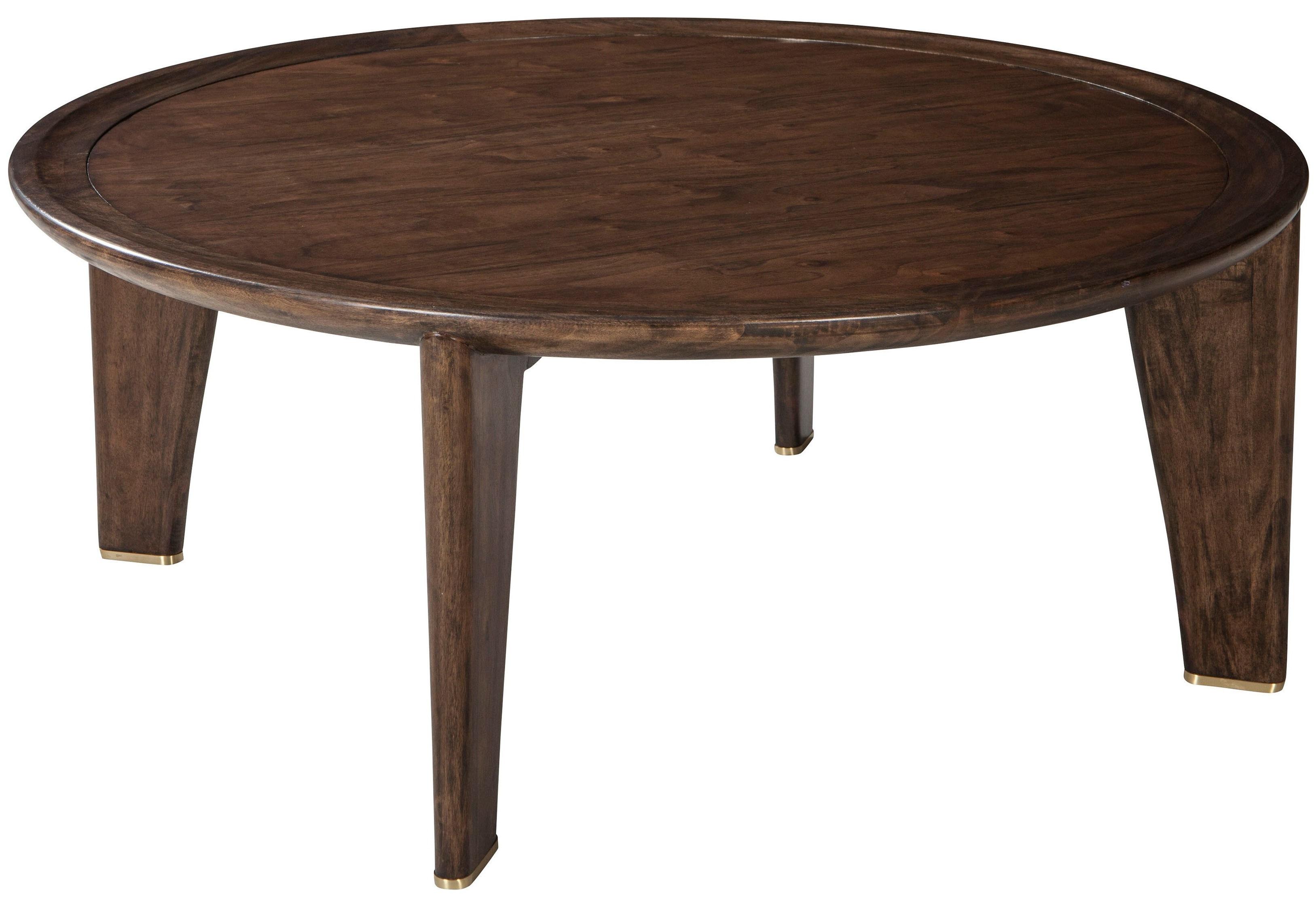 Ellen DeGeneres   Villere Round Cocktail Table