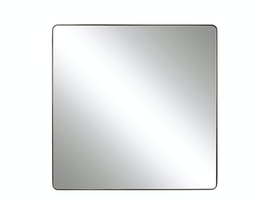 Modern-Charcoal Bronze Accent Mirror