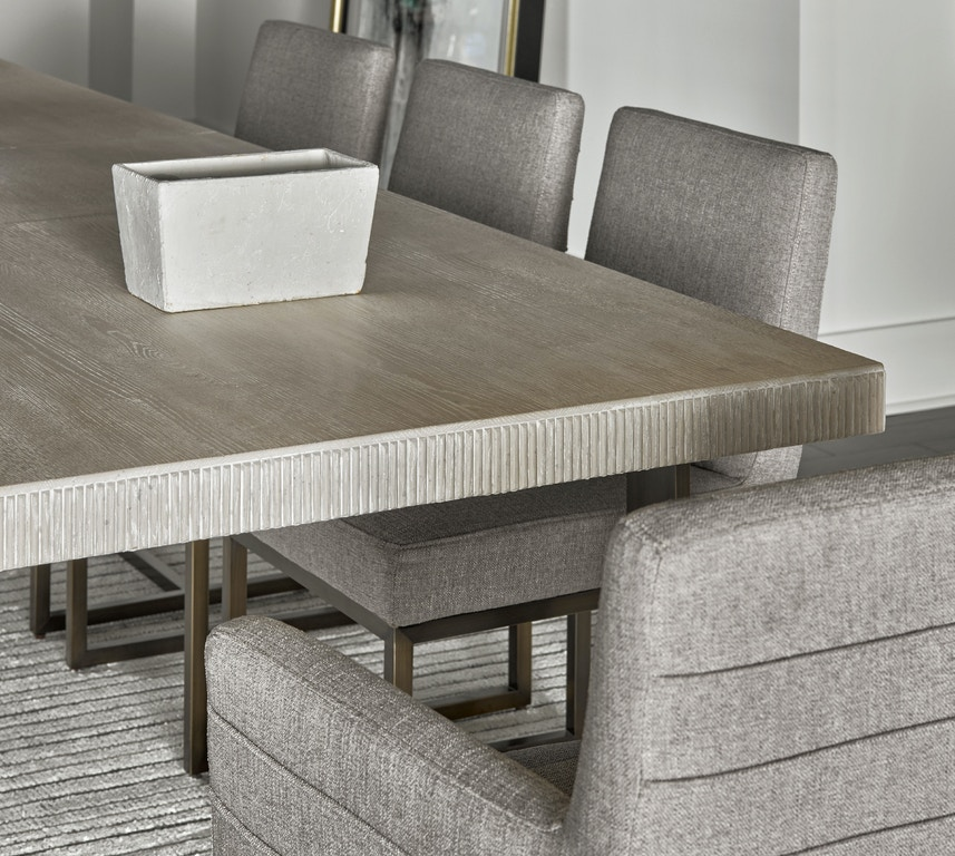 Dining Room Modern Quartz Robards Rectangular Dining Table
