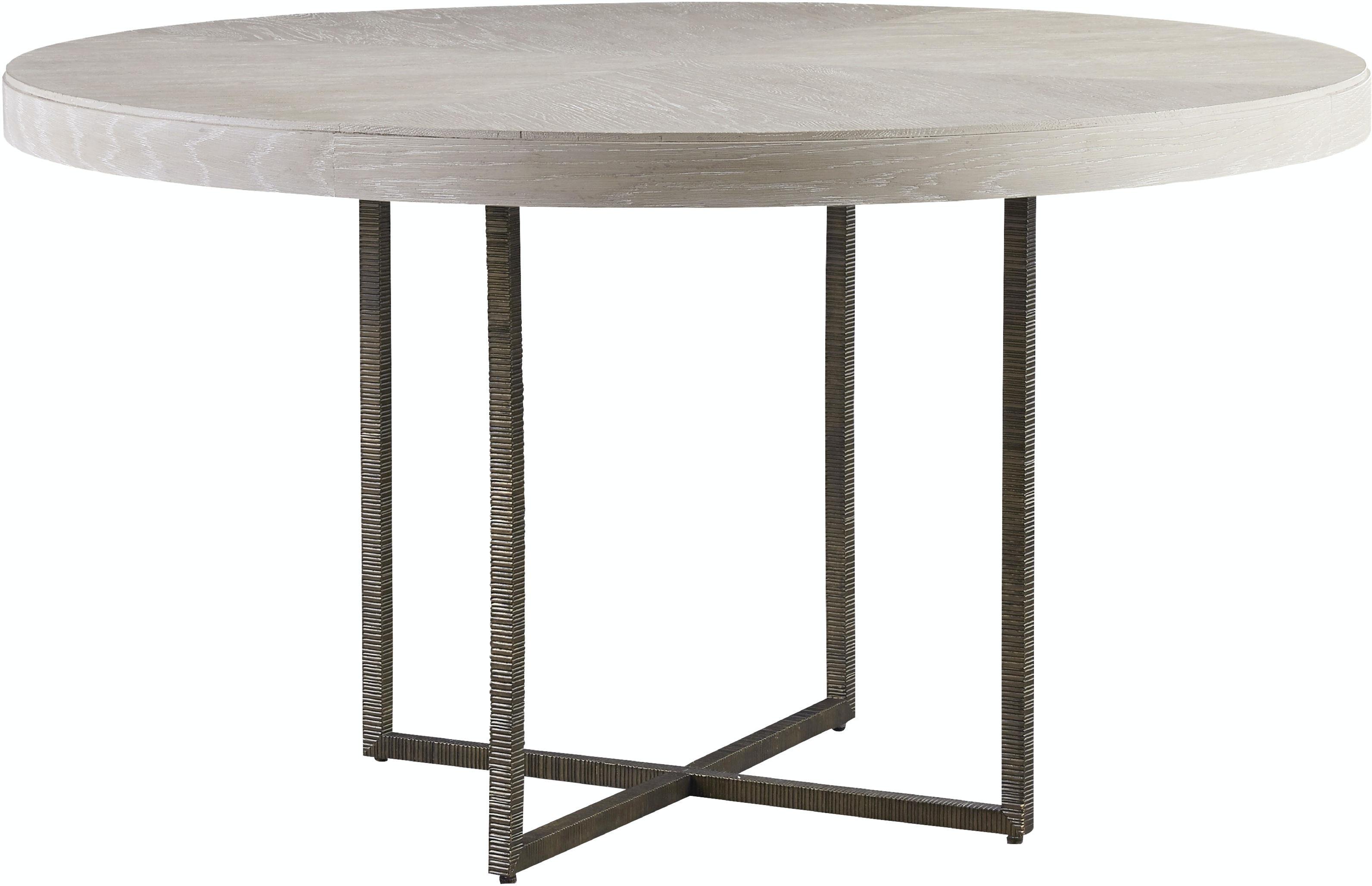 Dining Room Modern Quartz Robards Round Dining Table