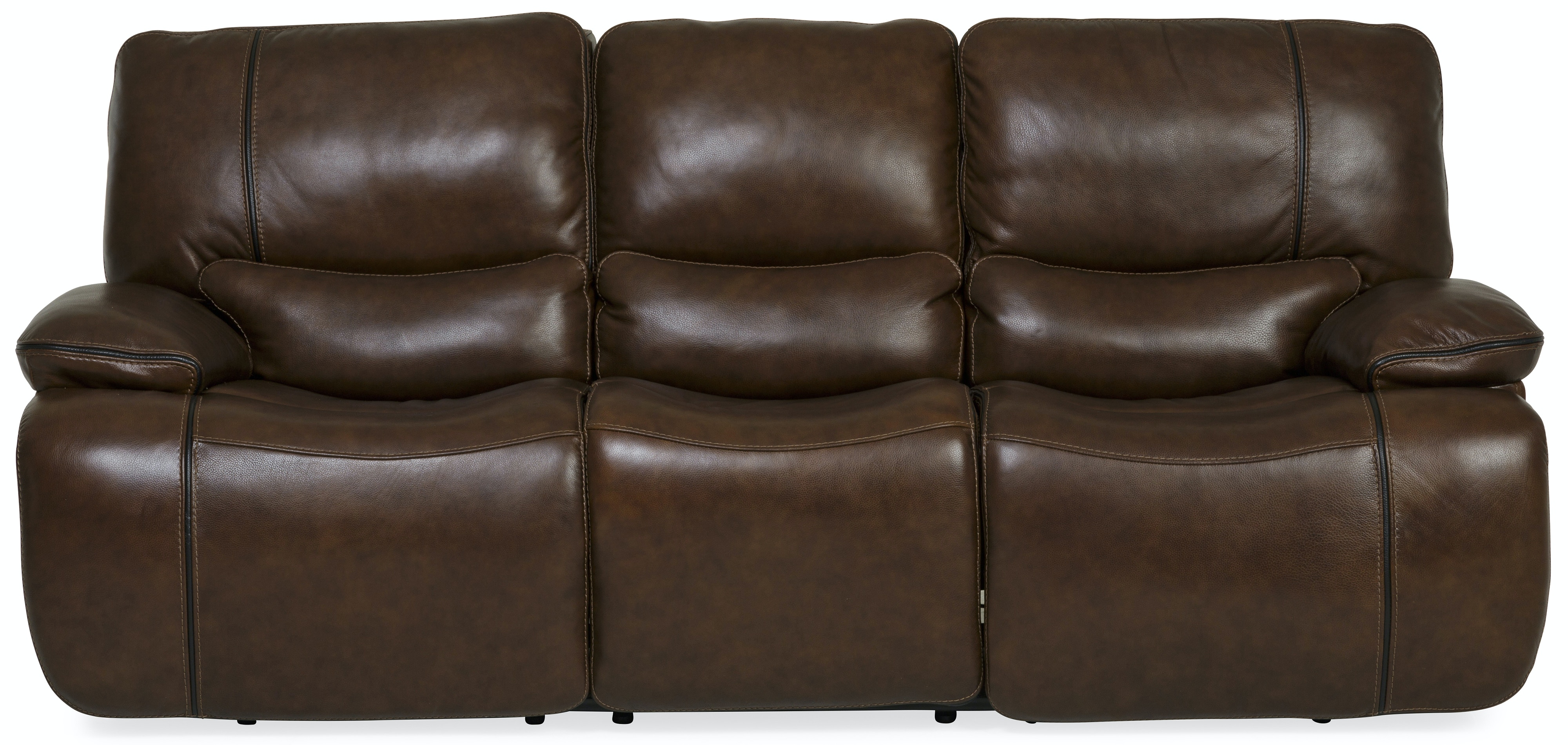 Charmant Boden Bramble Power Reclining Leather Sofa ST:480411