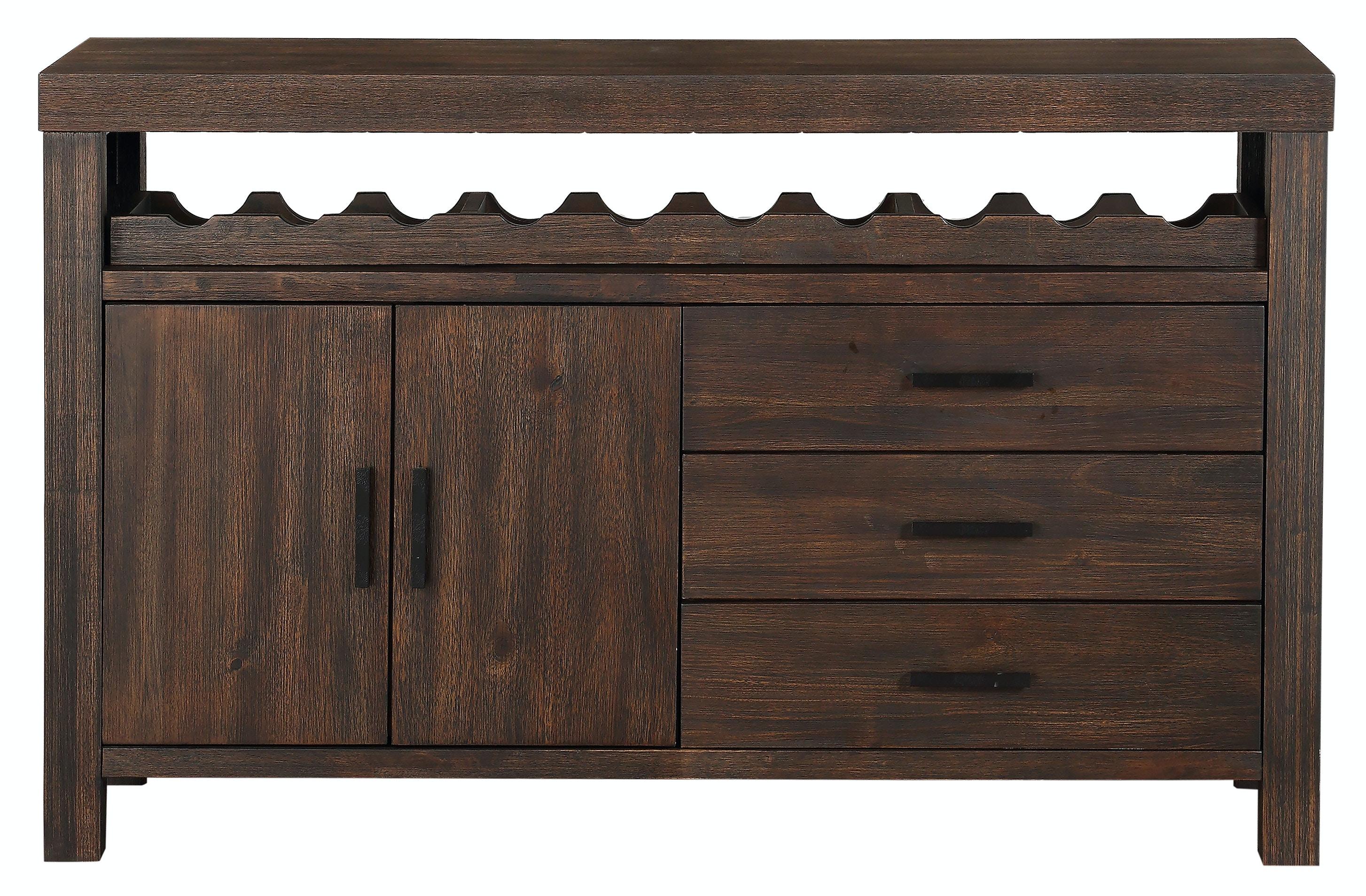 easton brown sideboard