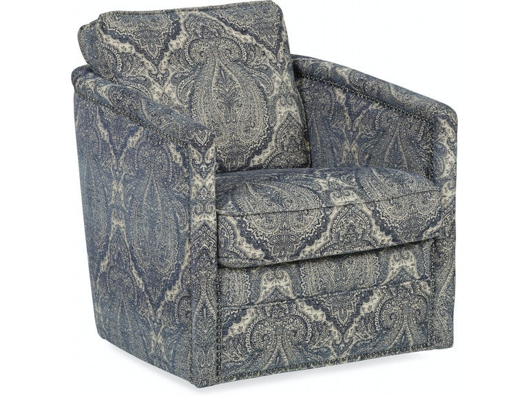 Palermo Hill Country Swivel Accent Chair St 482526