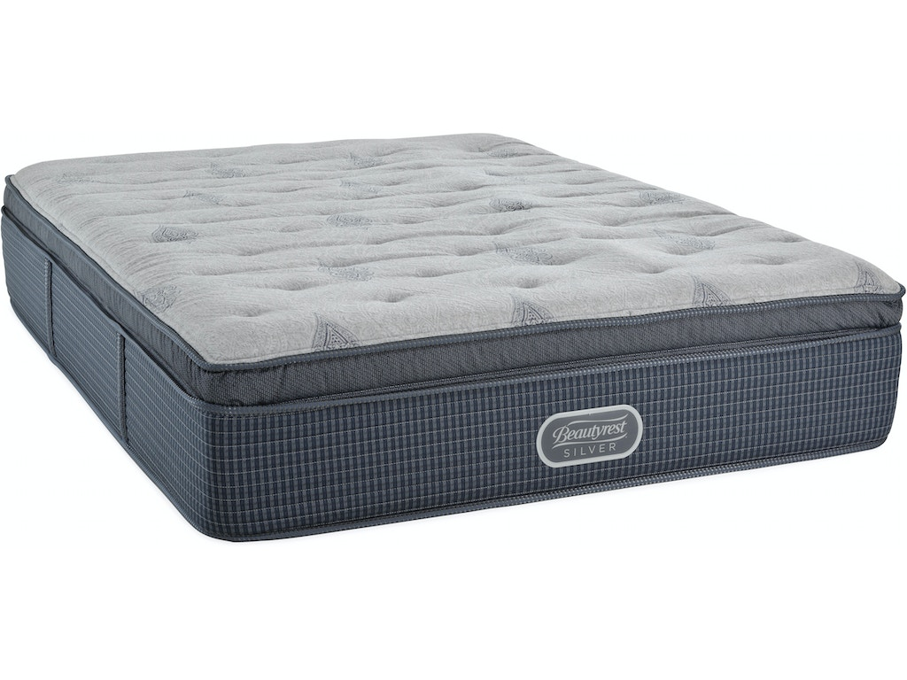 Beautyrest - Silver - St. Thomas Luxury Firm Pillow Top Mattress - QUEEN ST:
