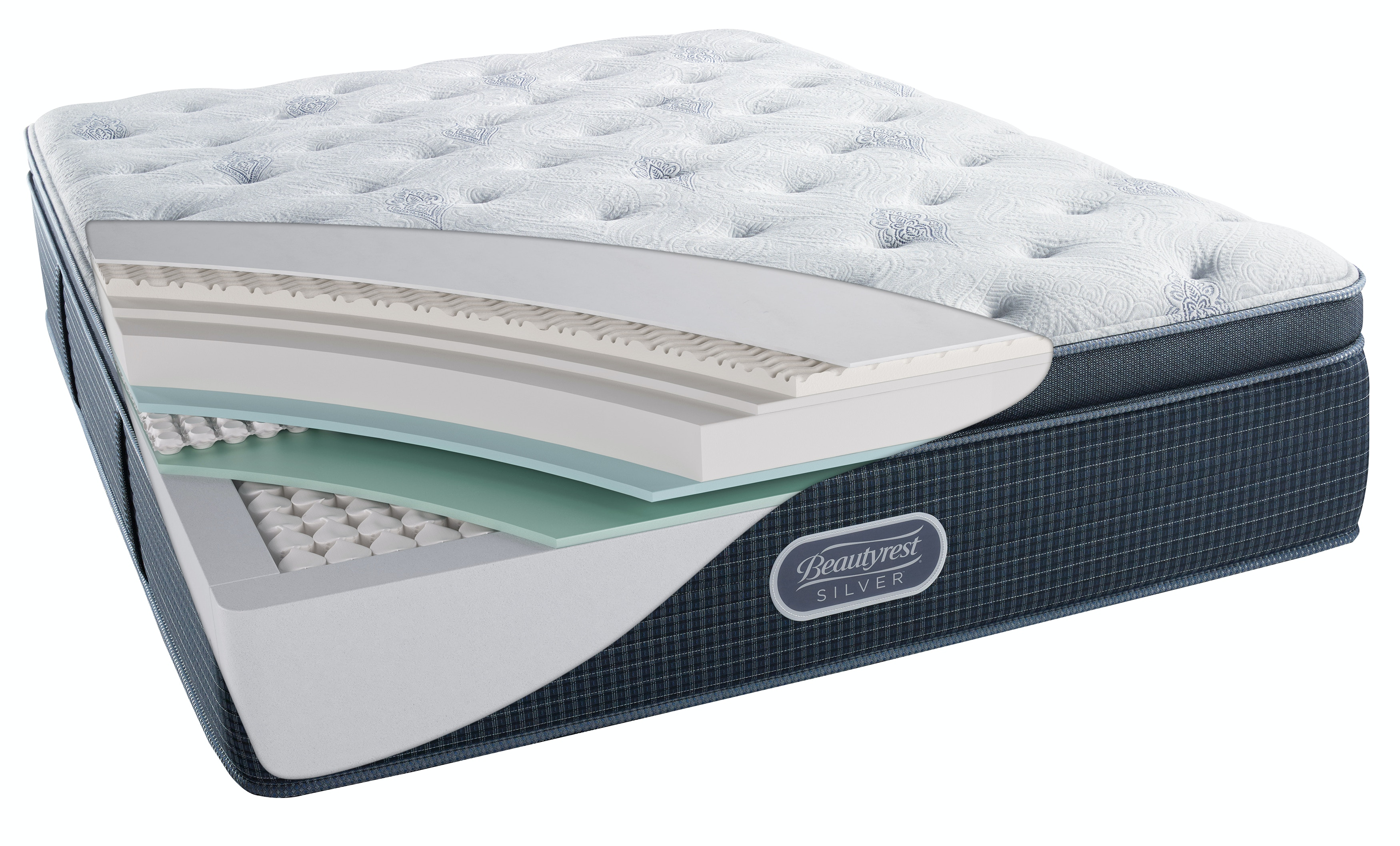 beautyrest silver st thomas luxury firm pillow top mattress queen st