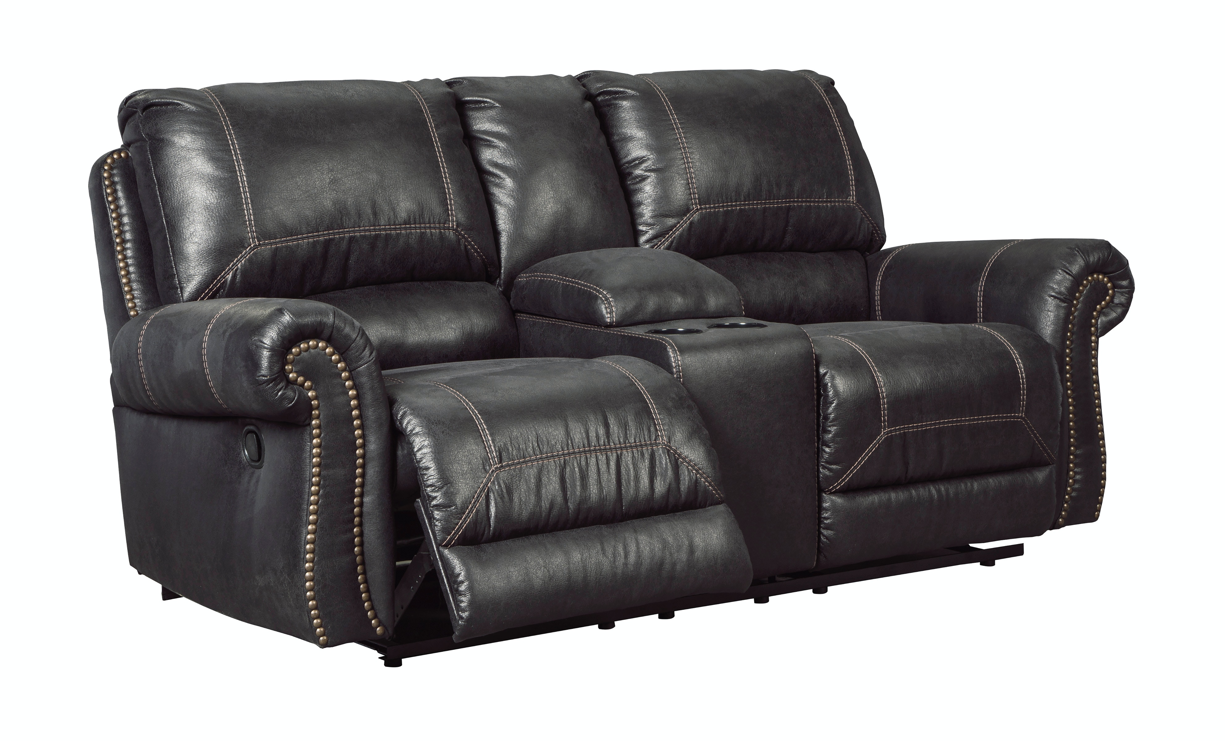 Milo Double Reclining Loveseat with Console ST487485  sc 1 st  Star Furniture & Living Room Milo Double Reclining Loveseat with Console islam-shia.org