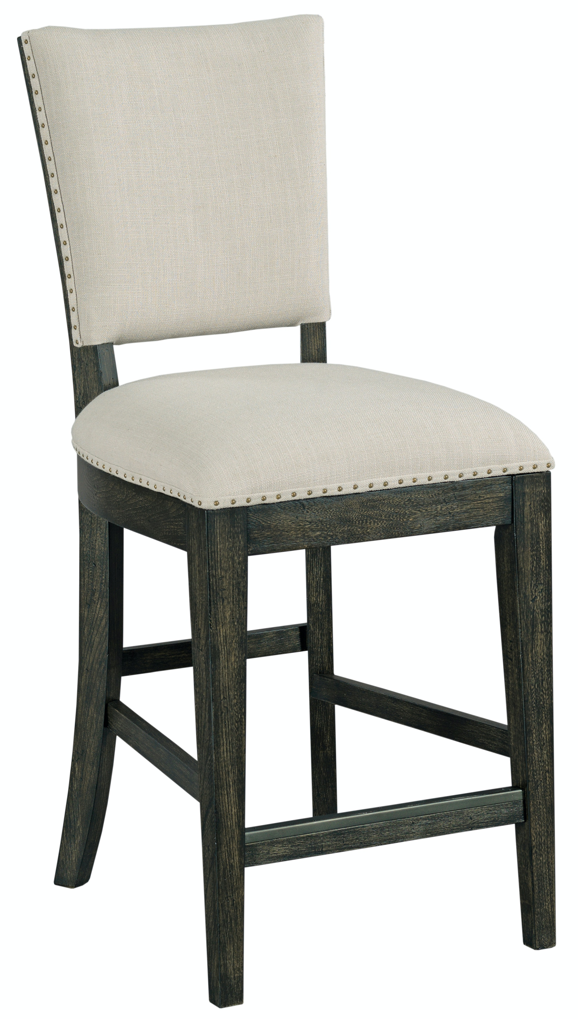 Plank Road Kimler Upholstered Counter Height Chair   CHARCOAL ST:488386