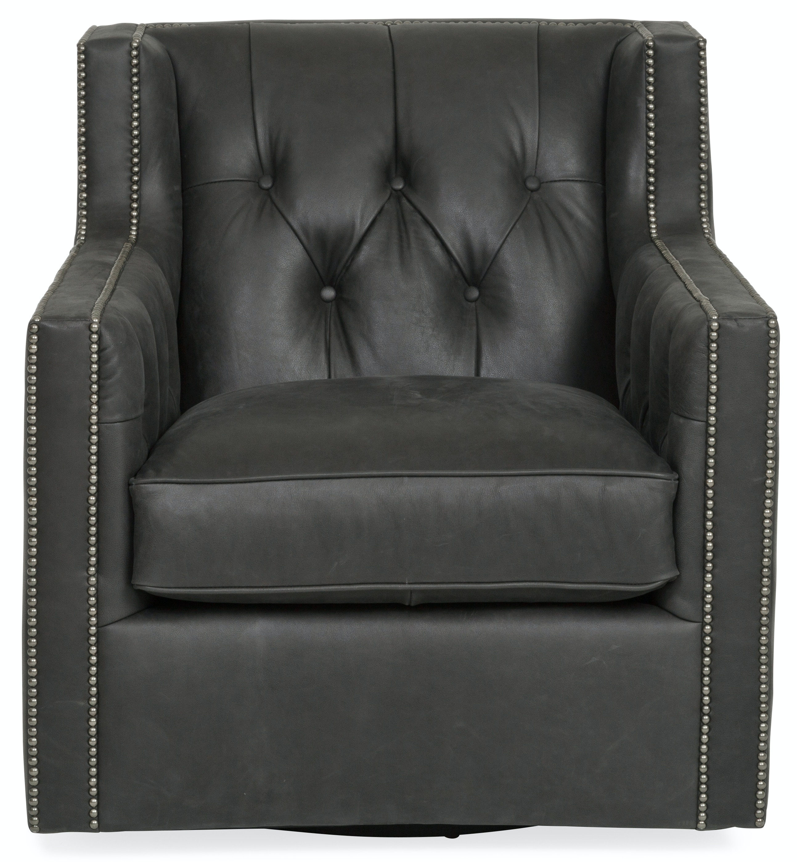 Candace Leather Swivel Chair ST:490445