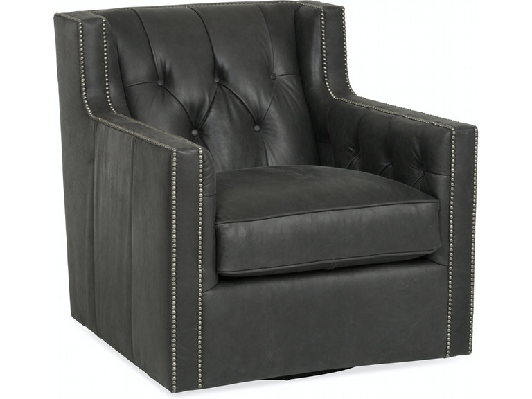 leather swivel chair living room. Candace Leather Swivel Chair ST 490445 Living Room