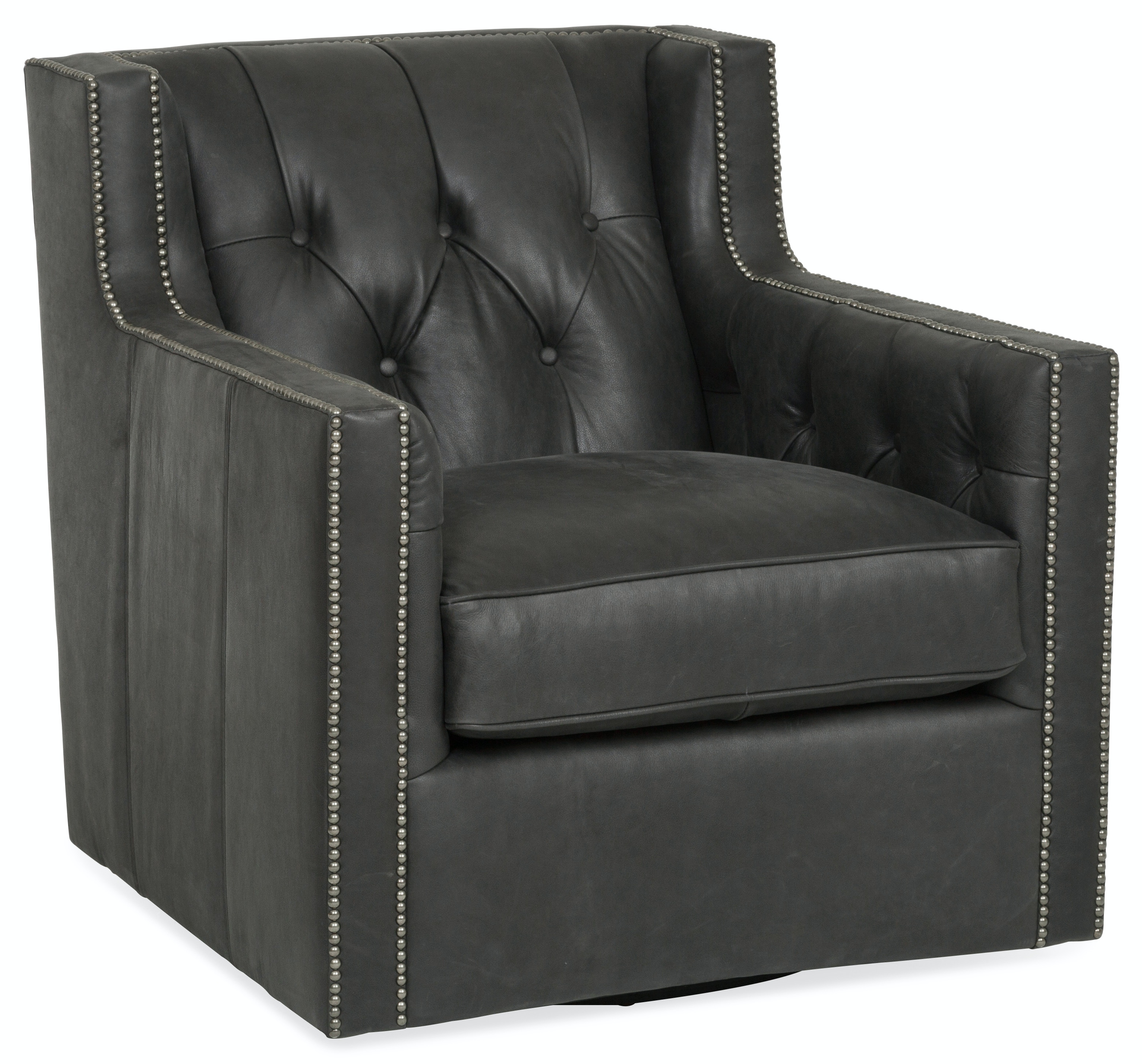 Exceptionnel Candace Leather Swivel Chair ST:490445
